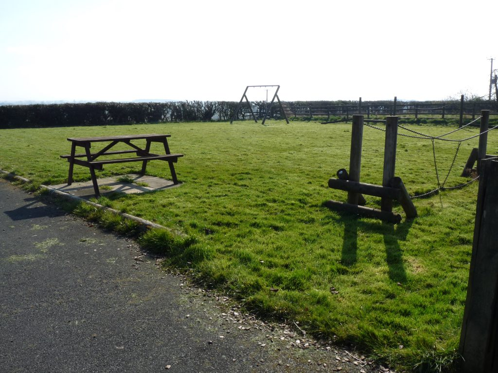 Picture of trim trail on grassed area