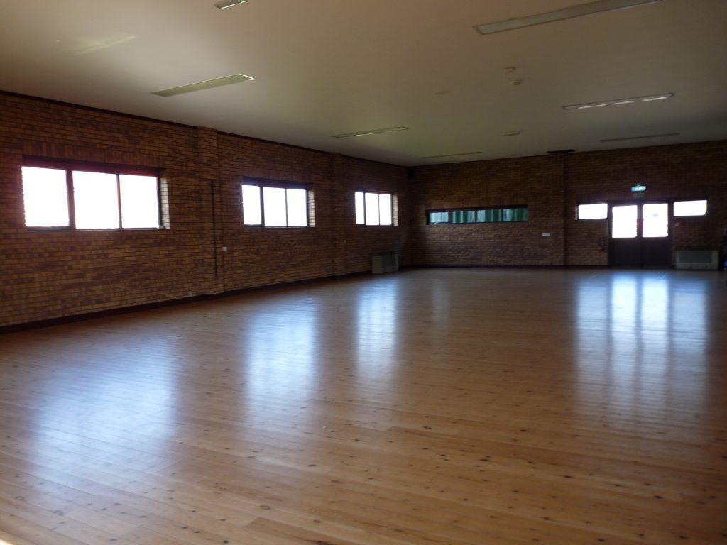 The main hall empty